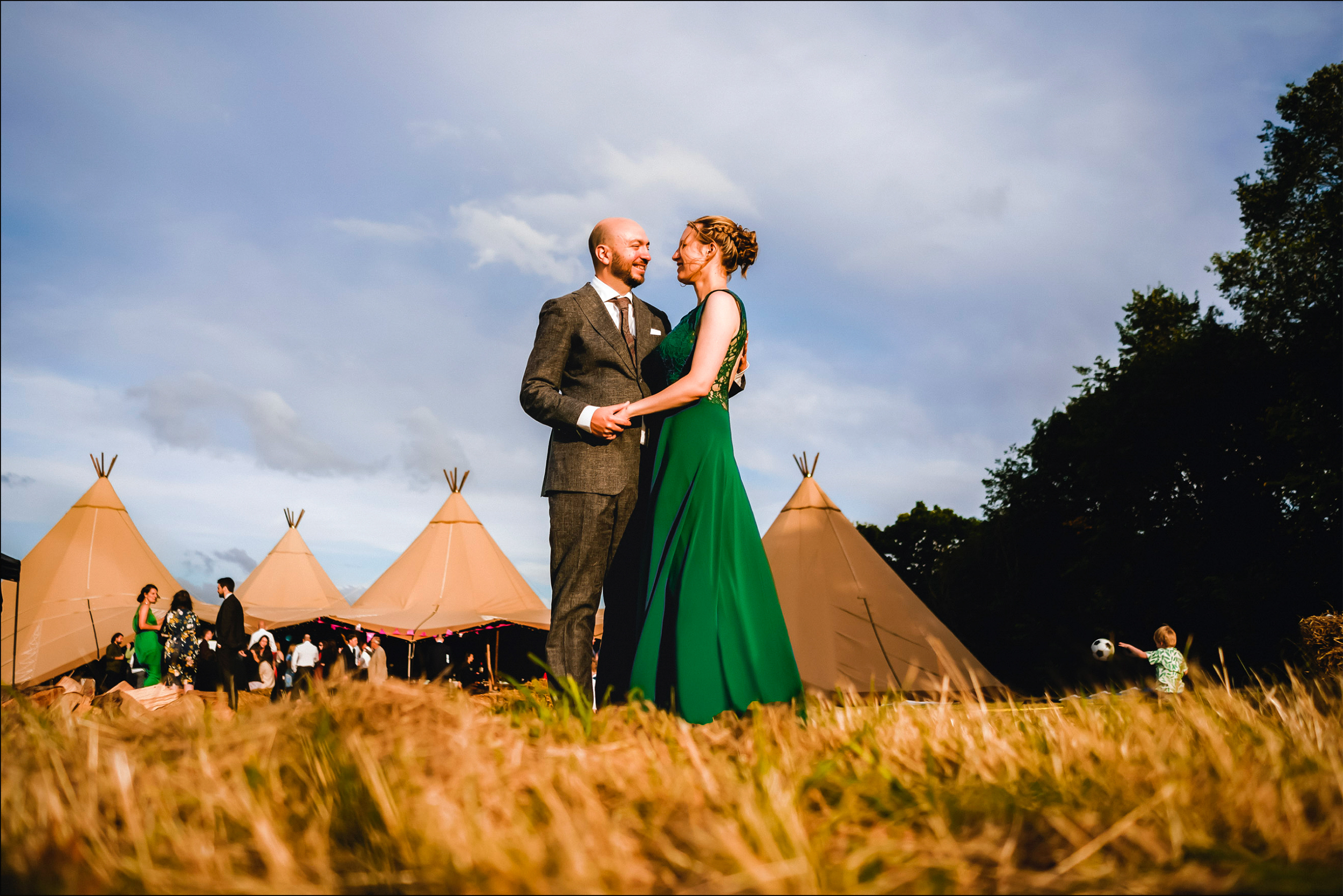 Tipi Wedding in Cambridgeshire